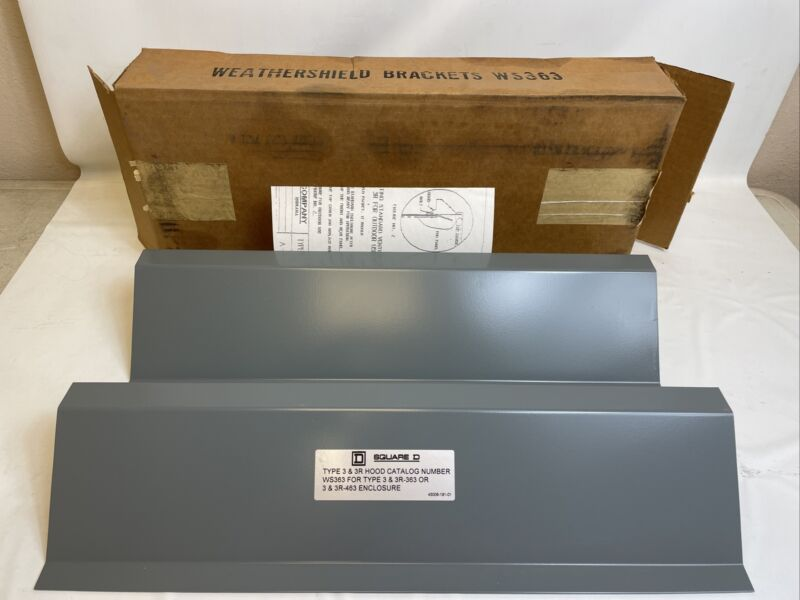 *New In Box* WS363 Square D Weather Shield Rain Shield for Dry Type Transformers