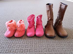 Girls Winter Shoe bundle 3 pairs for $8 Adelaide CBD Adelaide City Preview