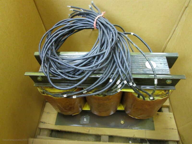 Fellows 01-01-5906-1 Machine Tool Transformer Pri 437/460/483 sec-1 6kva Sec 2