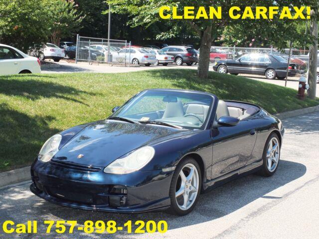 Porsche : 911 Carrera 2 2000 PORSCHE 911 CARRERA 2 CONVERTIBLE - LOOKS/RUNS/DRIVES GREAT!  CLEAN CARFAX!