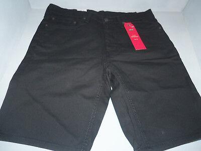 Levi's 541 Men's Athletic Fit Jeans Shorts Cotton Black- Jet SIZES! NWT! New! Cotton Jean Shorts