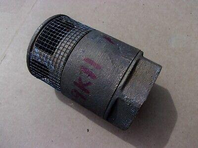 A.y. Mcdonald 1 14 Tank Well Oil Fuel Sump Pump Foot Line Check Valve Bronze