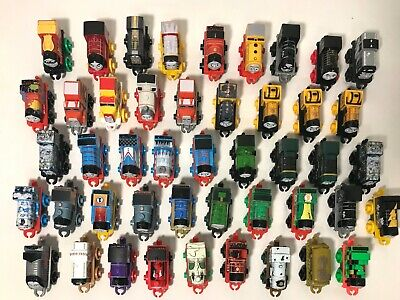 46 Mini THOMAS THE TANK ENGINE Train & Friends Miniature Toy Lot Blue Green Red