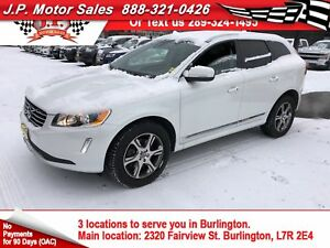 2015 Volvo XC60 T6 Platinum, Navigation, Leather, Sunroof, AWD
