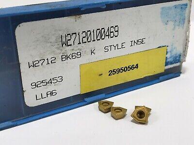 Komet W27120100469 New Carbide Inserts Grade Bk69 4pcs