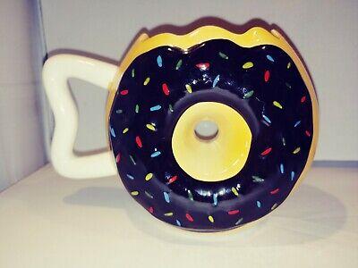 Chocolate Sprinkle Donut (Big Mouth Chocolate Sprinkle Large Donut Coffee Tea)