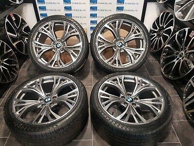 BMW X5 X6 21'' ALLOY WHEELS M SPORT- E70/E71/F15/F16-  & NEW TYRES *X4 - PROMO