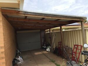 6.2 x 3.4 m timber carport with 2.7m roller door Warradale Marion Area Preview