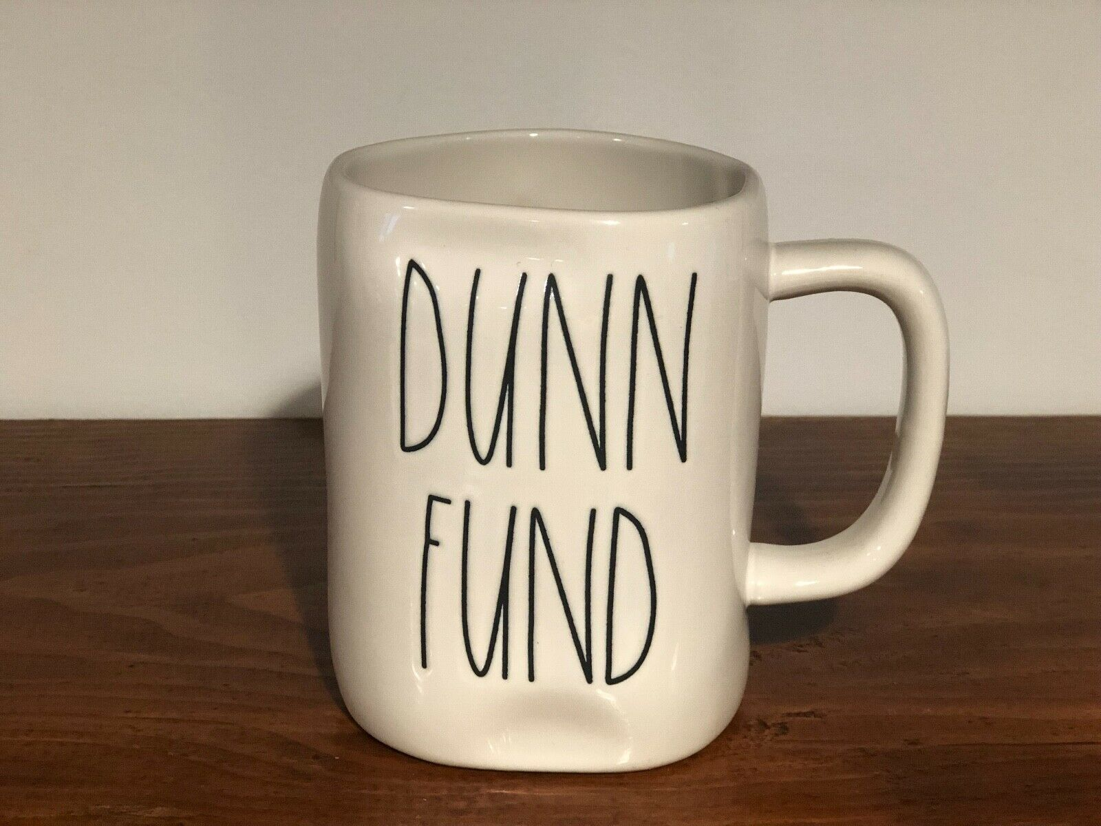 Rae Dunn Artisan Collection By Magenta Farmhouse LL Large Letter Coffee Tea Mug DUNN FUND