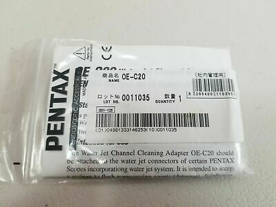Pentax Oe-c20 Endoscope Water Jet Channel Cleaning Adapter F 90k90ii10 Series