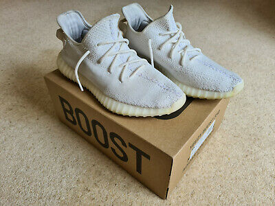 Adidas Yeezy Boost 350 v2 - Triple White - Mens UK 11