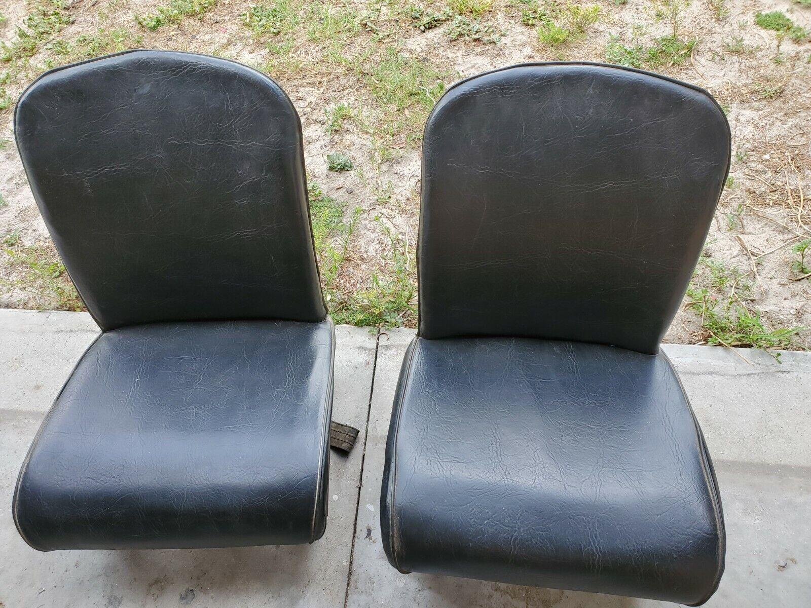 Vintage 1958 fiat 500 nuova seats
