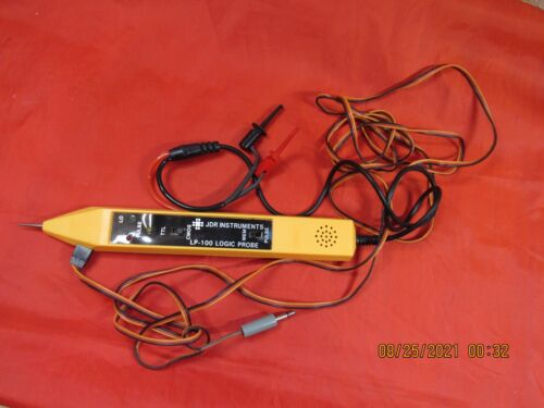 JDR Instruments LP-100 Logic Probe w/ Electrical Power Connector & Probes