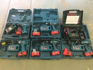 Cordless tools Makita and Bosch Burra Queanbeyan Area Preview