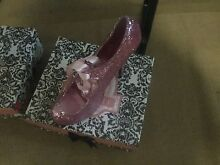 Ladies pink glitter Bordellos size 11 Trinity Park Cairns Area Preview