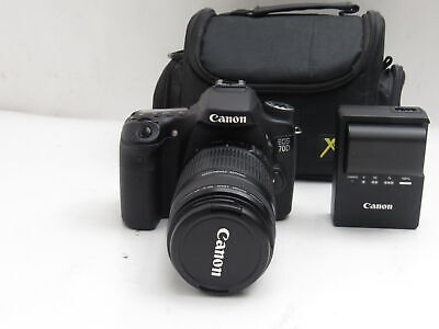 Canon Ds126411 EOS 70D Digital SLR Camera With EFS 55-250mm Lens