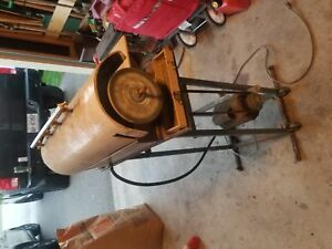 5 wheel electric wet polisher stand