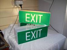 EXIT safety sign, shed/ rumpus/ bbq area Moonah Glenorchy Area Preview