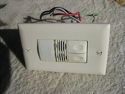 Pir Dual Relay Wall Switch Occupancy Sensor Wattstopper Pw-200
