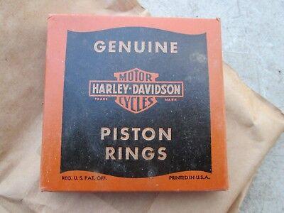 Genuine Harley-Davidson 45s Piston Rings +.020 NOS Vintage 22358-38 261-38C