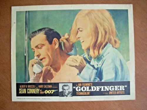 GOLDFINGER (Lobby Card, 1964)