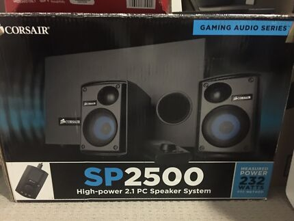 Corsair speaker system - amazing quality!!!