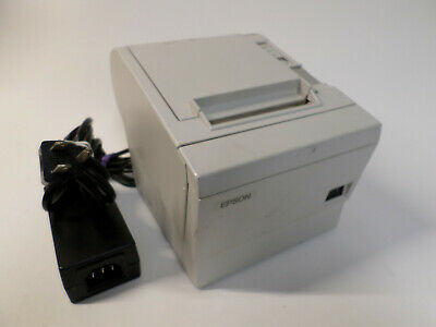 Epson Micros Tm-t88iip M129b Pos Thermal Receipt Printer Parallel W Power