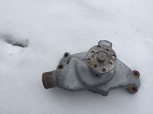 Chevy 350 New shorty water pump