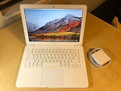 "Apple MacBook White 13"" A1342 NEW 1TB HDD 8GB of Ram. New OS X High Sierra 2017"