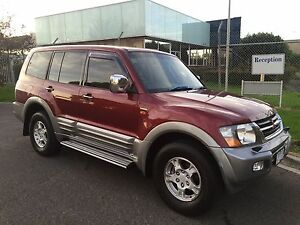 2001 Mitsubishi Pajero 7SEATER DRIVE AWAY Reservoir Darebin Area Preview