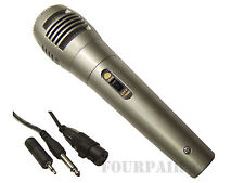 Professional Dynamic Uni-Directional Wired Microphone Mic DJ PA Karaoke 10