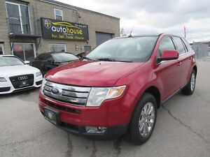2009 Ford Edge Limited LIMITED, AWD, LEATHER, PANORAMIC SUNRO...