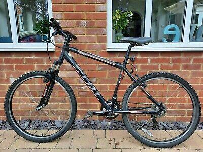 "Python ROCK teenage boys bike/bicycle - black Aluminium Frame 26""wheels."