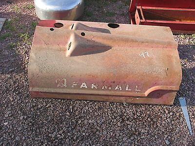 International Ih Farmall Hood H Super H