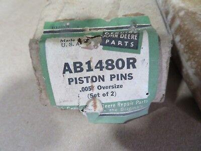 Nos John Deere Ab1408r B1354r .005 Oversize Piston Pins For B Bo Br