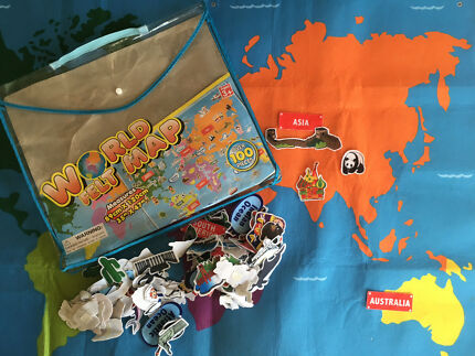 World globe toys indoor gumtree australia maroochydore area felt world map floor size gumiabroncs Images