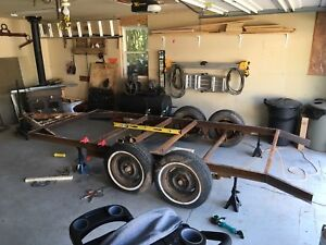 Rugged tandem axel trailer project $425