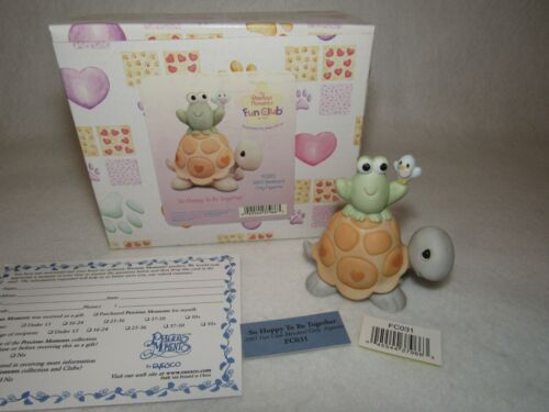 So Happy To Be Together 2003 Precious Moments Figure FC032 - MIB
