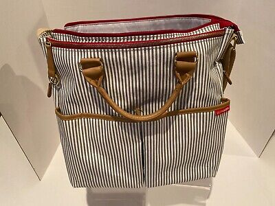 SKIPHOP DUO SPECIAL EDITION DIAPER BAG FRENCH STRIPE