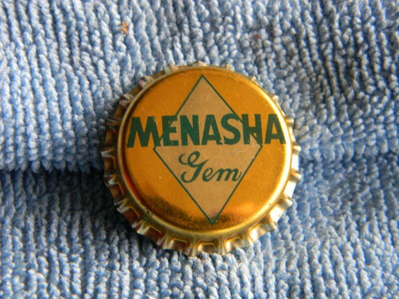 Vintage Menasha Gem Beer Bottle Cap (Uncapped)
