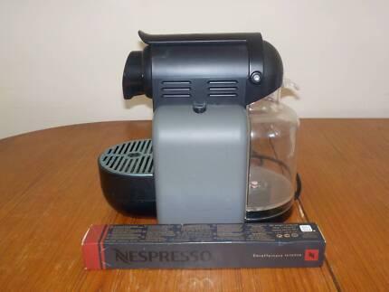 Nespresso coffee pod machine + pods
