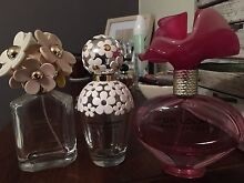 Empty Marc Jacobs perfume bottles Cremorne North Sydney Area Preview