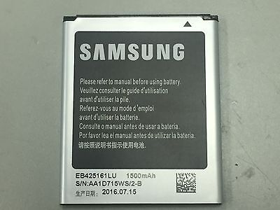 New OEM Samsung EB425161LU 3.8V Battery for Galaxy S3 Mini Galaxy Ace 2 S Duos for sale  Uxbridge