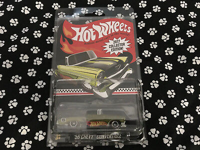 Hot Wheels 2017 '56 CHEVY CONVERTIBLE KMART Exclusive Mail In