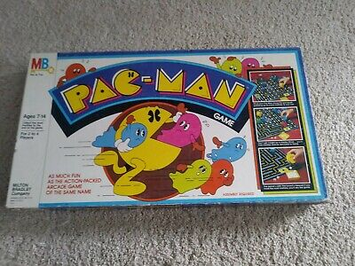 Vintage 1982 Pac-Man Board Game Milton Bradley complete arcade video