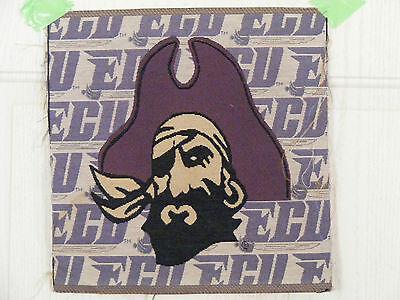 EAST CAROLINA PIRATE COLLEGE/SPORT Wall hanging or pillow .ready to make  (East Carolina Pirates Pillow)