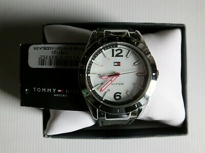 TOMMY HILFIGER VINTAGE WATCH TH-180-3-14-1241-1432BLK-3/4