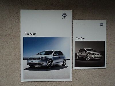 Volkswagen Golf - (Incl. 'R' - GTi)   Brochure Pack - 2010 - Mint