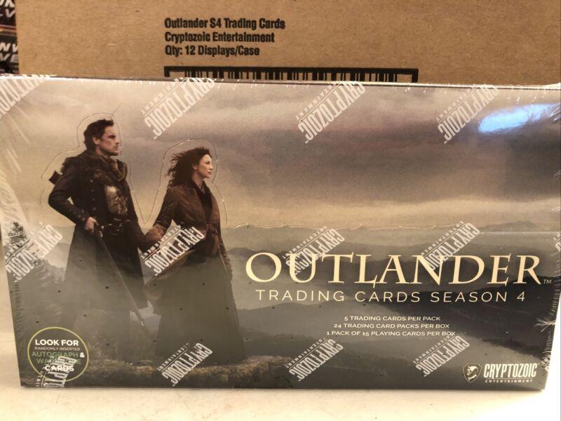 2020 Cryptozoic Outlander Season 4 Sealed Hobby Box - 24 Packs (2 Hits)