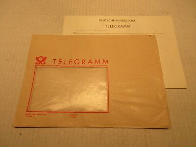 Telegram Deutsche Bundespost Telgramm Lx4 Unused